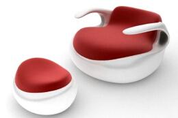 可充水的舒适椅子——创意家具设计