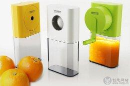 创意榨汁机设计,可爱且方便环保。