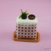 可口的蛋糕样式毛巾设计——创意广告设计