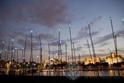 创意LED灯设计,环保且美丽。