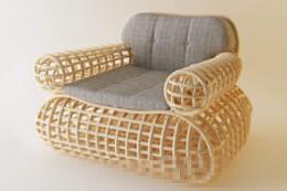 树腾组成的椅子和凳子——创意家具设计