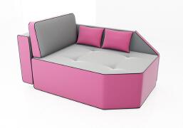 漂亮多变的梦幻沙发——沙发设计