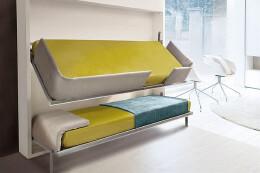 自由收放十分方便床设计,十分美观。