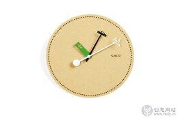 创意时钟设计,交通工具元素展示奔波的时候适当的放慢脚步。