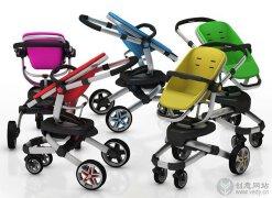 概念设计,优秀创意婴儿车设计。