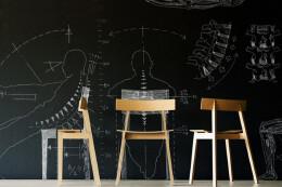 简约座椅,人性化设计。