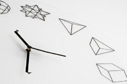几何表盘设计的时钟——创意挂钟