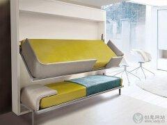 家具创意设计,多功能折叠床设计。