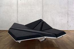 沙发设计,从岩礁中汲取到灵感的沙发。