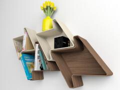 可以自定义模块组合的书架——书架设计图
