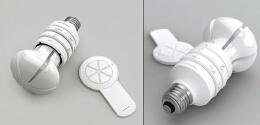 可控光照方向的节能灯——灯泡创意