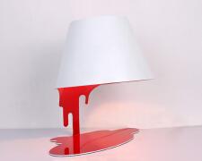 台灯设计,简单又略显奢华。