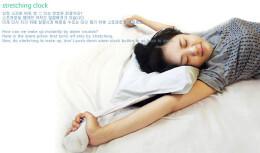 让你随便伸懒腰的闹钟枕——创意抱枕