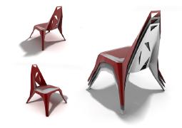 机械感十足的座椅——创意家具设计