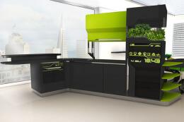 创意概念厨房形式——厨房设计