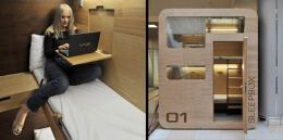 创意胶囊公寓,为你打造不一样的住宿方式。
