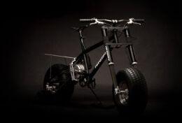 创意电动越野自行车,酷的超乎你的想象。