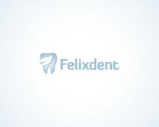 国外以牙齿为主题创意Logo设计