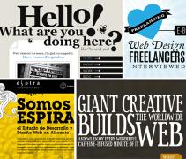 字体艺术在网页设计中运用例子