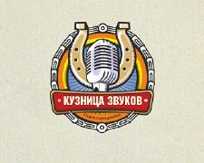 话筒标志创意Logo设计图案