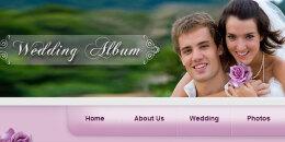 免费婚礼网站模板