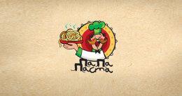 食品和饮料的主题logo设计