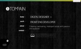 30个富有创意的黄色网站设计