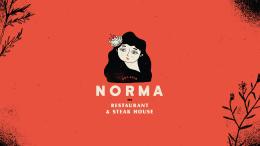 Norma餐厅品牌形象设计