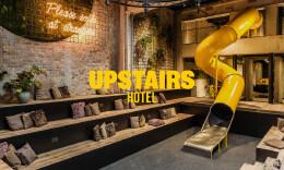 Upstairs Hotel酒店品牌设计欣赏