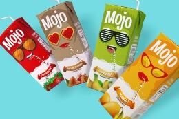 MOJO风味牛奶包装设计