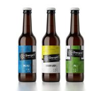 国外创意的工艺啤酒瓶贴设计