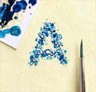 美国DANGERDUST手绘英文字母设计