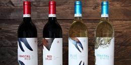 Chesapeake 玻璃瓶葡萄酒包装设计