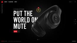beatsbydre耳机网站设计模板