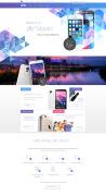 Jiffy手机网站设计模板欣赏