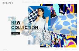 KENZO 16 时尚服饰网站排版设计