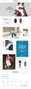 潮流韩国服饰网页设计模板欣赏