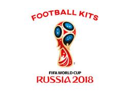 俄罗斯世界杯T恤设计套装欣赏
