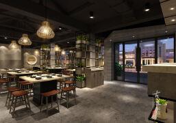 2019烤肉店餐厅装修设计欣赏