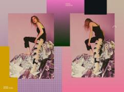 国外女装服饰海报排版设计作品欣赏