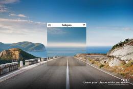 奥迪汽车安全驾驶宣传公益广告设计欣赏
