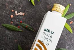 Alivu特级初榨橄榄油包装设计欣赏