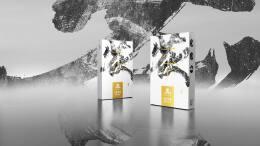 新中式百两茶茯砖茶黑茶茶叶包装设计欣赏