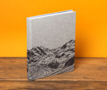 Aim high登山指南书籍设计作品欣赏