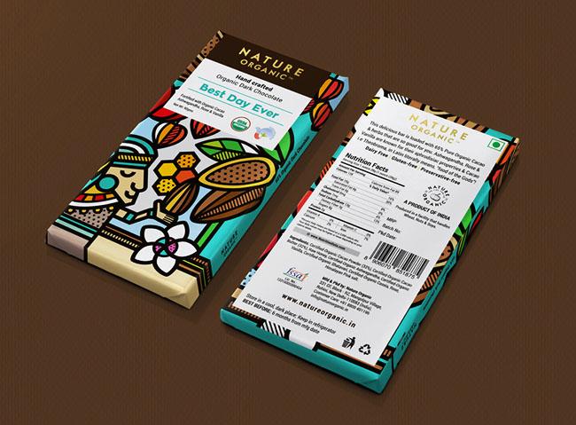国外巧克力插图包装设计作品欣赏