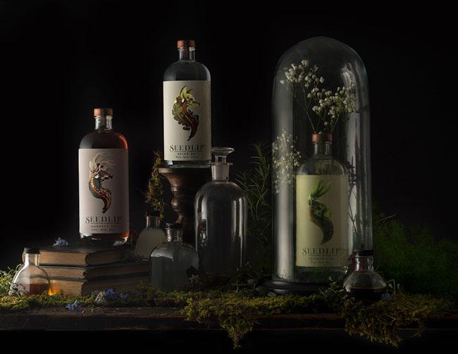 国外Seedlip植物草药饮料系列精美包装设计作品