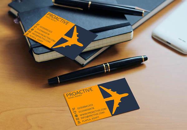 12款国外旅游行业名片案例作品