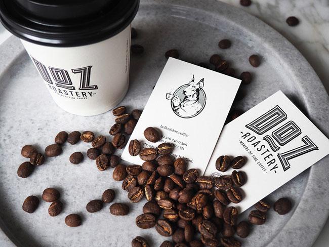 DOZ咖啡烘焙品牌VI形象设计欣赏