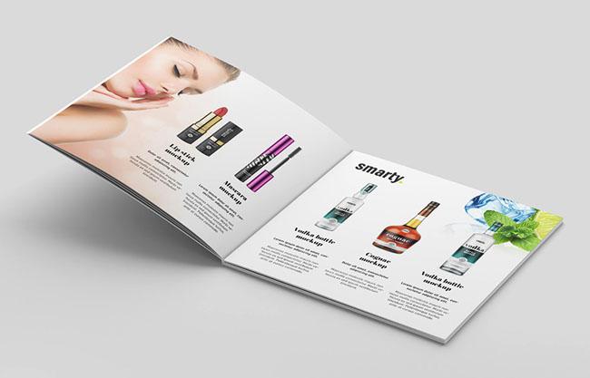 国外化妆品画册设计作品案例欣赏