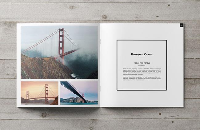 适合摄影师作品展示的方版画册设计欣赏